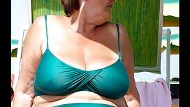 Vruća plavokosa baba Sarah retube film Vandella voli dominirati